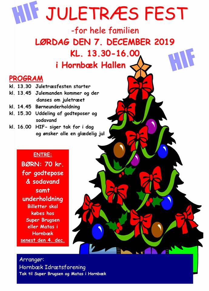 Billetter til børnejuletræsfest den 7. december